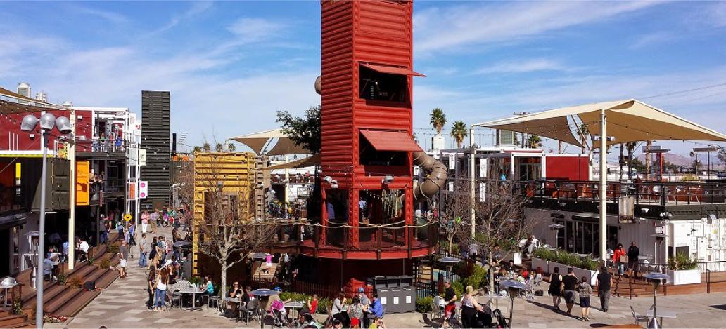 Downtown Container Park las vegas estados unidos