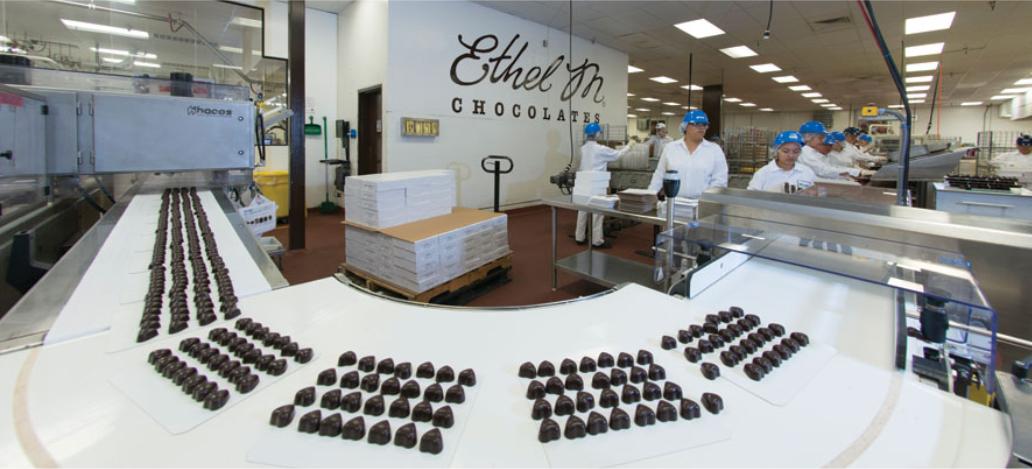 Ethel M Chocolates Factory and Cactus Garden las vegas atracoes