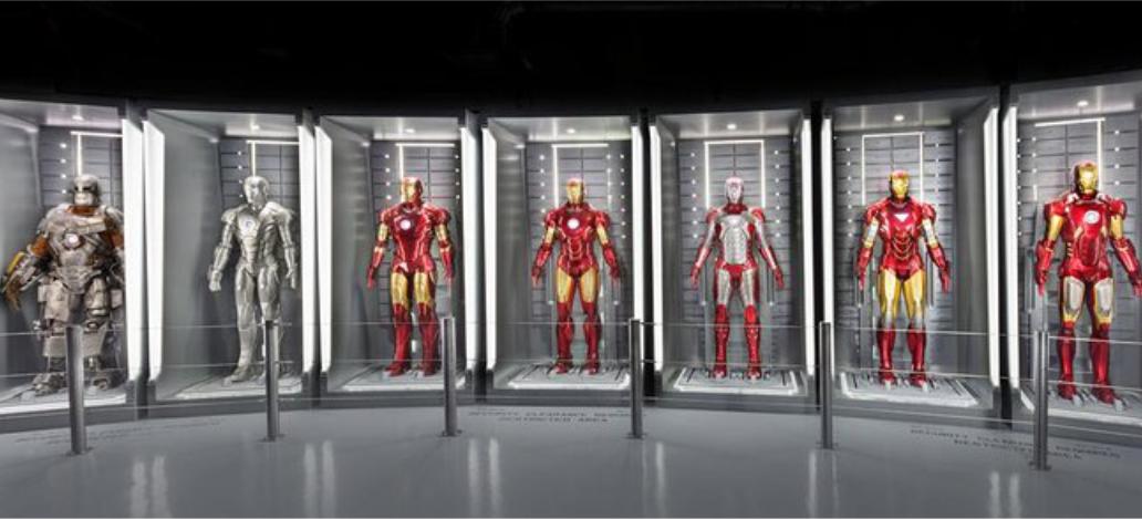 Avengers Station atracoes turisticas las vegas