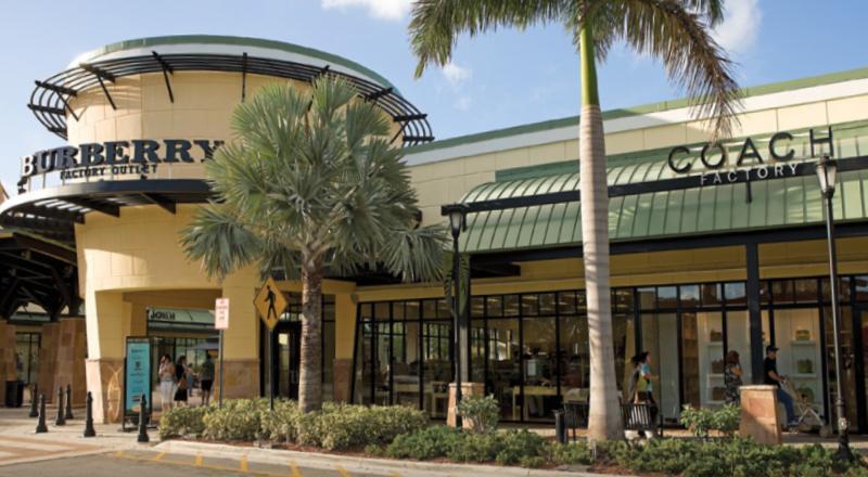 outlet eua Sawgrass Mills em Miami