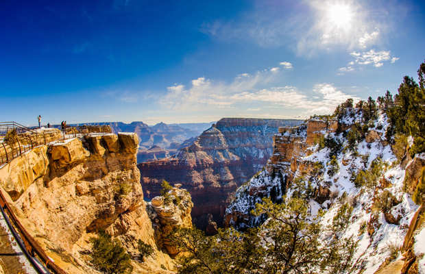 imagem do grand canyon national park nrth rim de cima